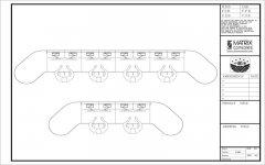 监控控制台cad图例图纸下载
