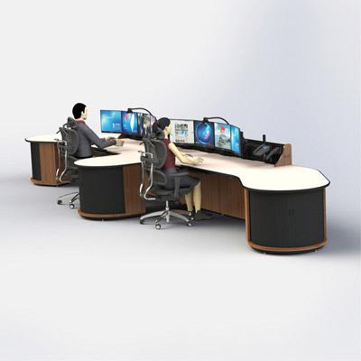 厂家供应调度中心专业设备操作台