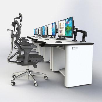 信息室电脑控制台厂家