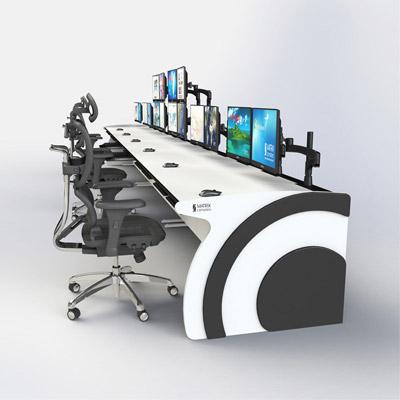 计算机房控制台厂家