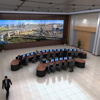工业调度控制室控制台定制