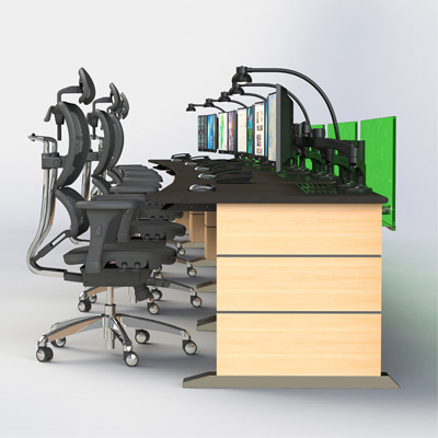 木质操作台监控平台定制
