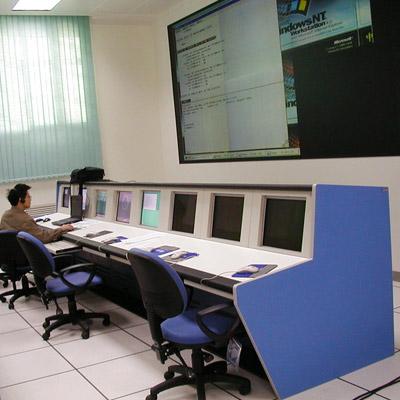 消防监控室机柜式操作台定制