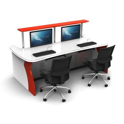 非标定制调度室电脑监控操作台
