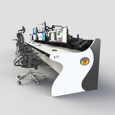 监控室席位专用操作台定制