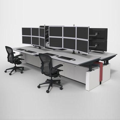 监控机房系统操作台定制