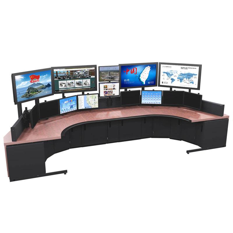 地铁弧形监控台