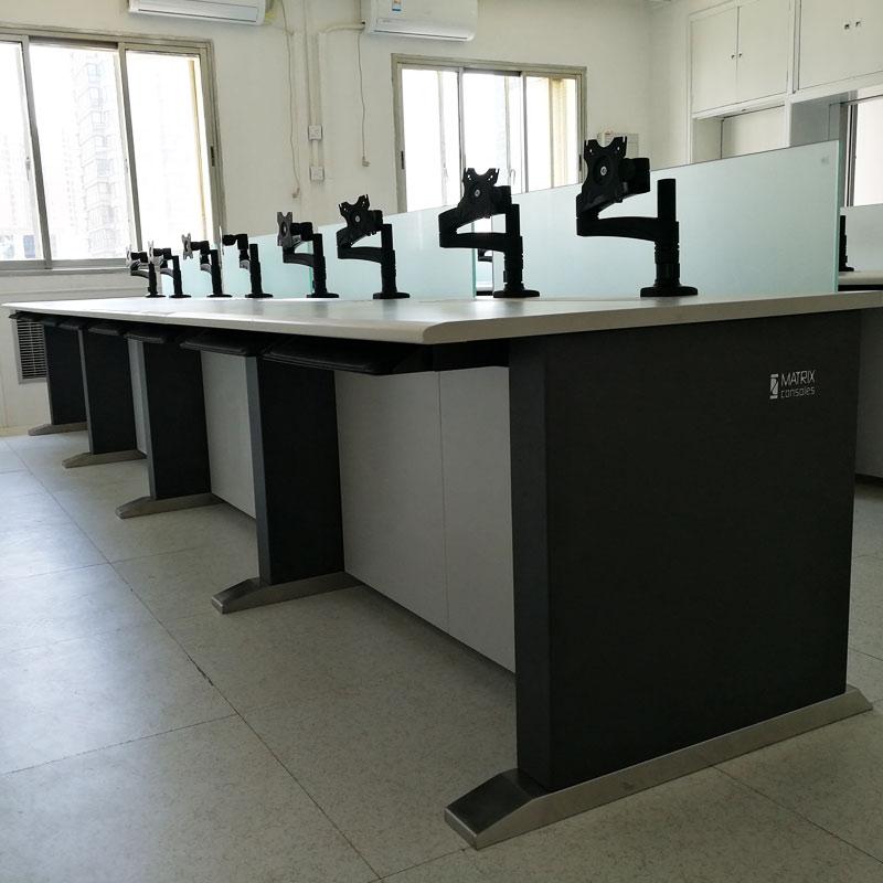 中控室电脑监控台