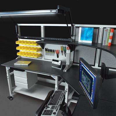电力电子仪器实验操作台定制