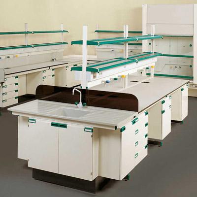 订制钢木实验操作台