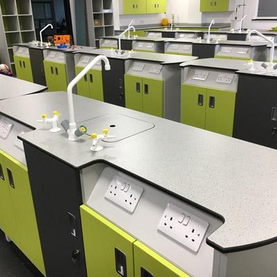 学校实验室多功能操作台定制