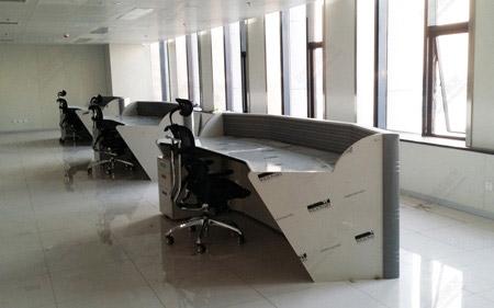 新型办公操作台家具图片