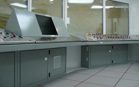 不锈钢电脑操作台图片