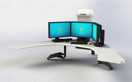 工业工厂调度室控制台图片