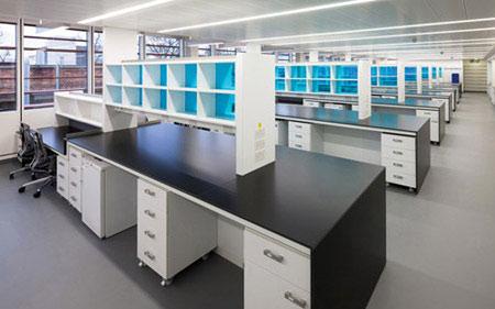 实验室操作台图片
