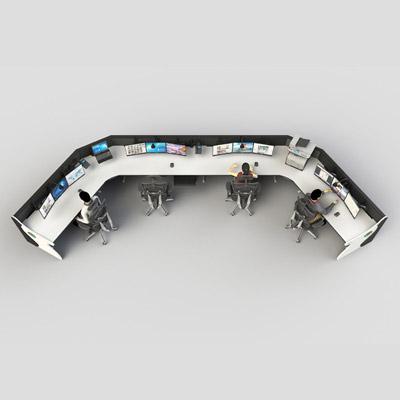 人防指挥室设备操作台定制